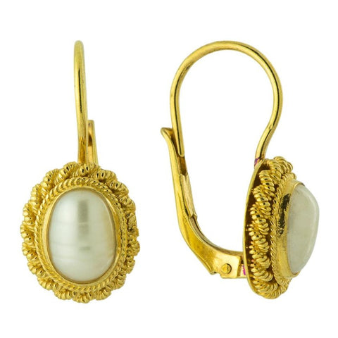 Penelope Pearl Earrings