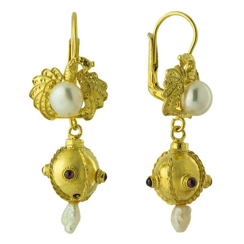 Cassandra Sphere Earrings