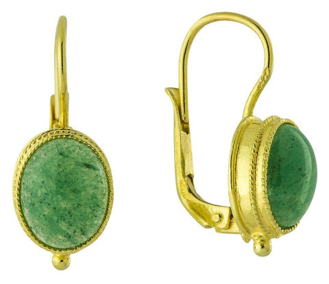 Maharashtra Aventurine Earrings