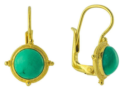 Celebrity Turquoise Earrings a visual feast of victorian jewelry