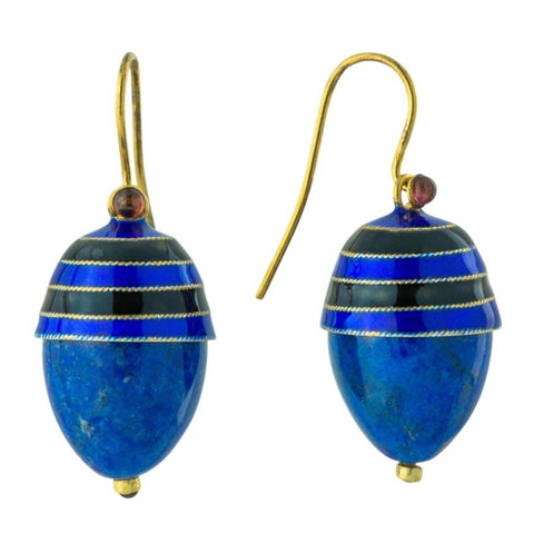 Boulevard Jolie Lapis Lazuli Earrings