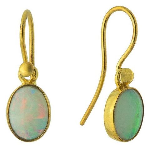 Cloud Opal Earrings