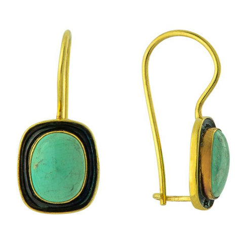 Mary Shelley Turquoise Earrings
