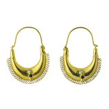 Caspian Boat Earrings