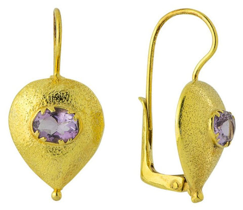 Evelina Amethyst Earrings