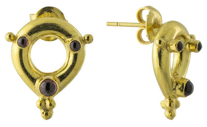 Calabrian Garnet Earrings