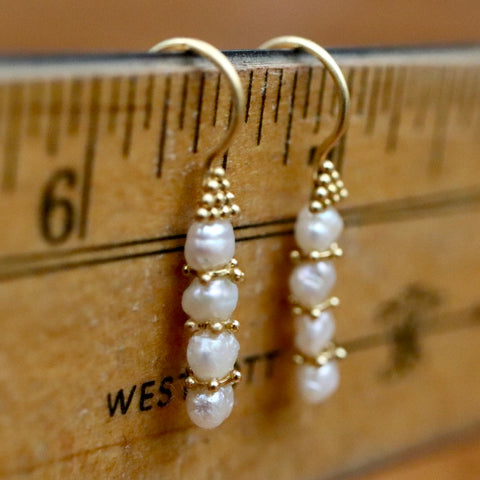Poseidon Pearl Earrings