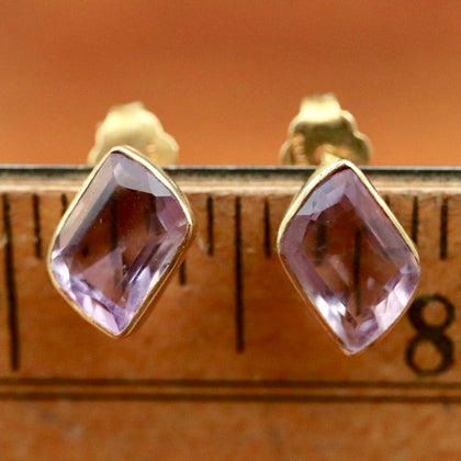 Atlantic Amethyst Earrings