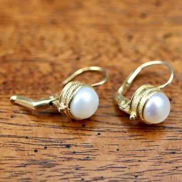 Meg Pepperidge Pearl Earrings
