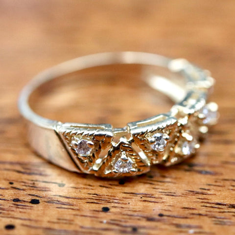 Cleopatra Diamond Ring