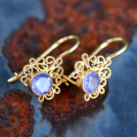 Contessa Iolite Earrings