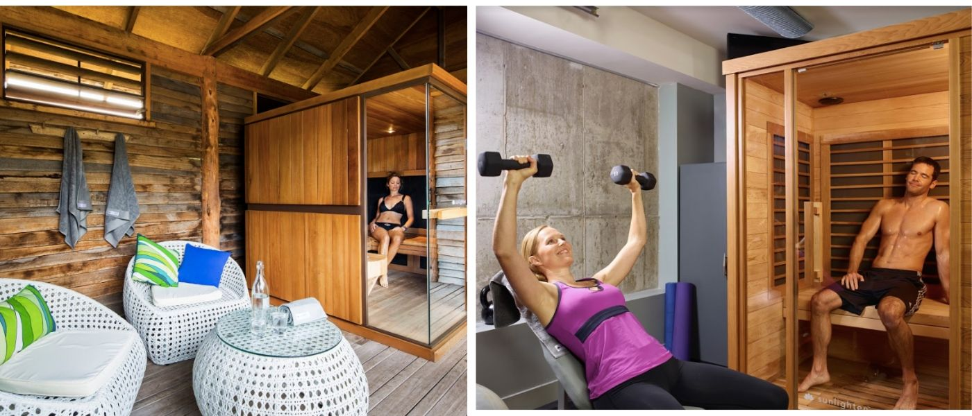 sauna fitness center