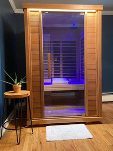 Sunlighten Amplify 2 Person Full Spectrum Infrared Sauna
