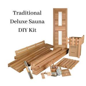 Traditional Deluxe Kits by Saunacore