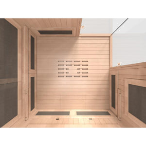 Sunlighten mPulse dISCOVER 4 Person Full-Spectrum Infrared Sauna