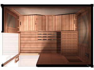Sunlighten Signature 4 Person Far Infrared Sauna