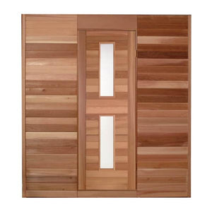 Insulated Cedar Door by Saunacore