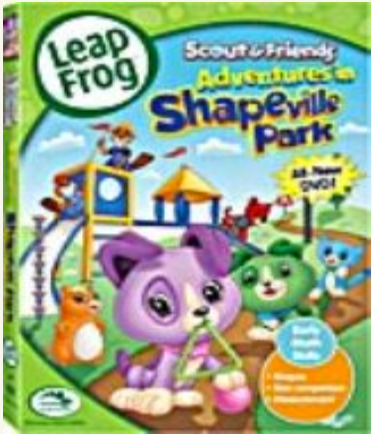Leap Frog Adventures In Shapeville