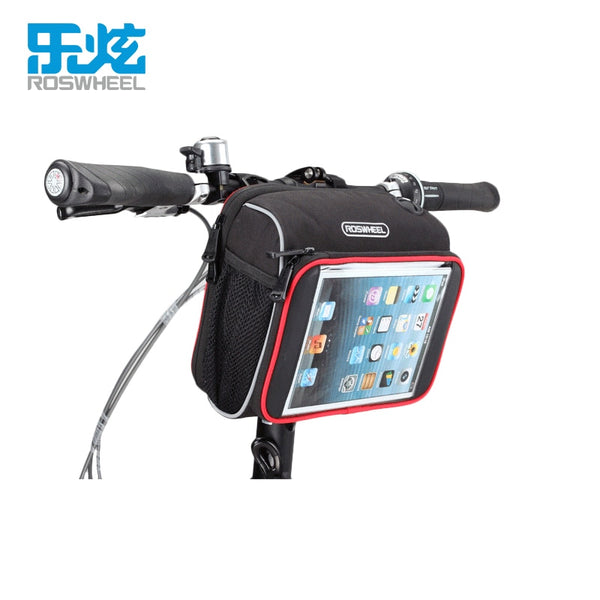 Roswheel bike bag accessories Handlebar basket bycicle cycling bags bicycle bag pannier for ipad mini 7 8 inch tablet pc