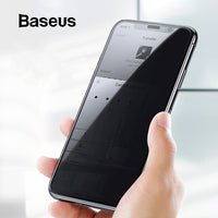 Baseus Anti Glare Protective Glass For iPhone XR Xs Max Screen Protector 0.3mm 3D Full Coverage Tempered Glass For iPhone X Xs