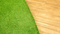 artificila grass Floors to walls