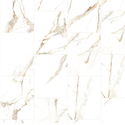 Large Onyx Beige - 1m Shower Wall Panelling - Floors To Walls