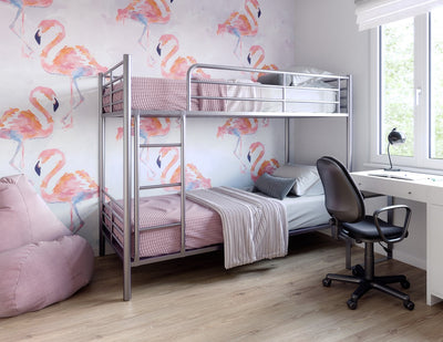Children's room made of Vox Vilo Painted Flamingo panels
