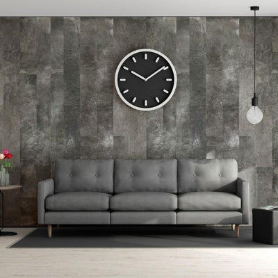 Living room made of Sofia Slate Tile Effect Panels