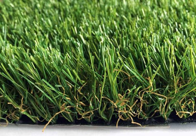 closeup view of Artificial Grass
