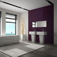 Decorwall Elegance Purple Mosaic - Floors To Walls