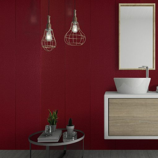 Decorwall Elegance Ruby Red Mosaic