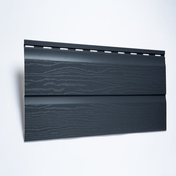 Anthracite Grey 333mm External Embossed Cladding UPVC - Floors To Walls