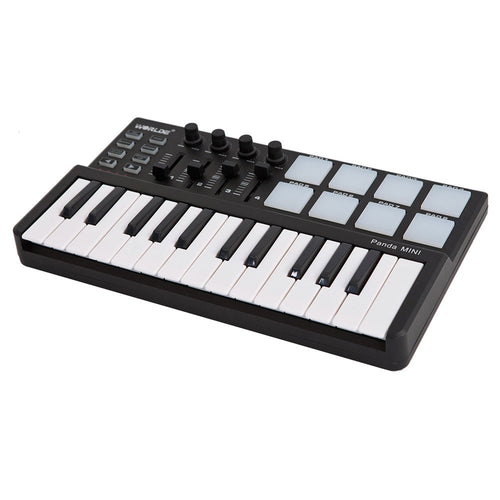 Worlde Panda mini Portable Mini 25-Key USB Keyboard and Drum Pad MIDI Controller