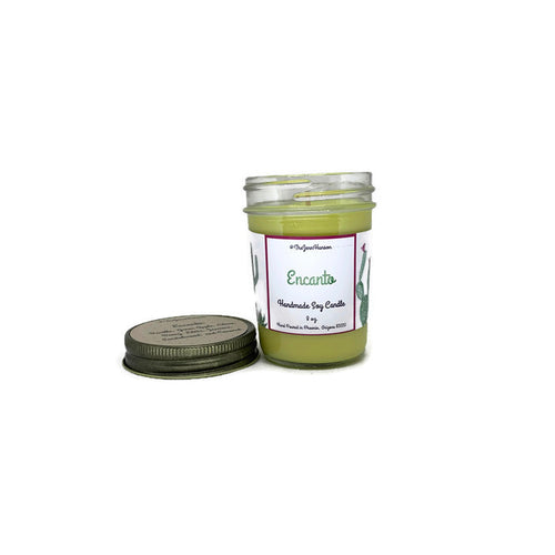 Encanto (Endless Weekend) scented soy candle in 8 oz or 12 oz jar
