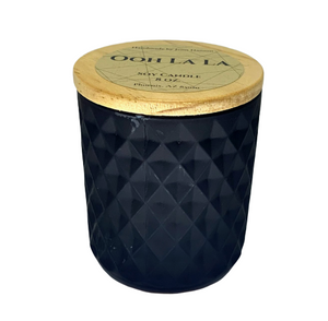 Ooh La La soy candle - 8 oz matte black jar