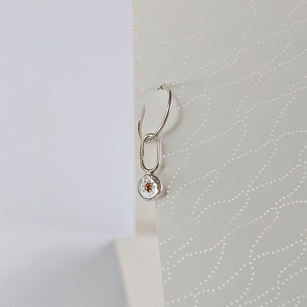 Sleeper Charm // Citrine // Medium Dangle