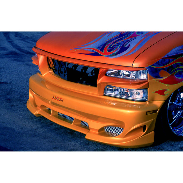 Chevrolet, GMC Bumper Cover  - Front
