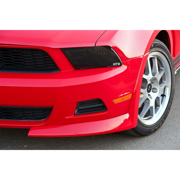 10-12 Ford Mustang Base (Coupe/Convertible) Aero Splitter Kit  - Front