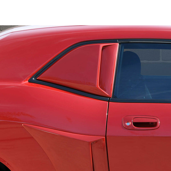 08-19 Dodge Challenger Quarter Window Scoop Set