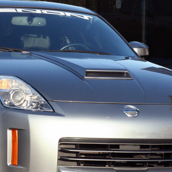 03-09 Nissan 350Z (Coupe/Convertible) Hood Scoop  - Center