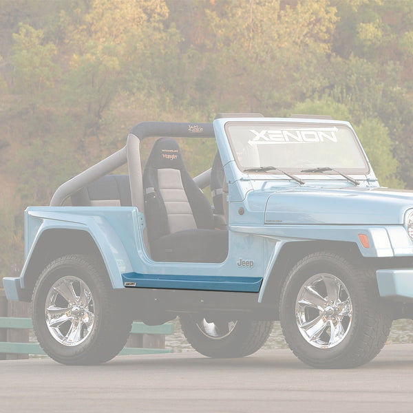 97-06 Jeep Wrangler (Wheelbase: 93.4Inch) Side Skirt  - Rocker Panel