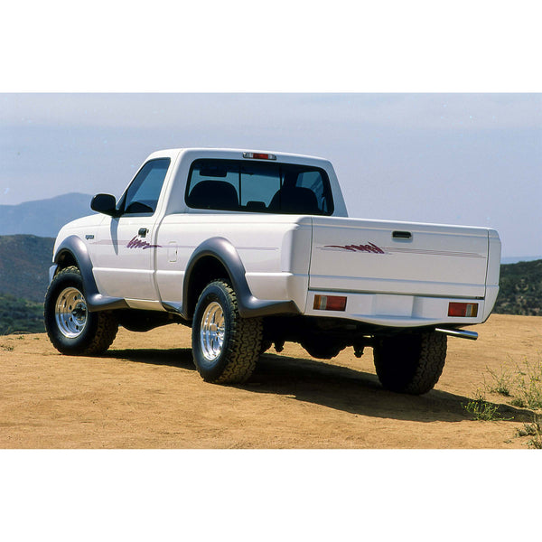 93-00 Ford Ranger (Bed Length: 72.0 - 84.0Inch) Roll Pan  - Rear