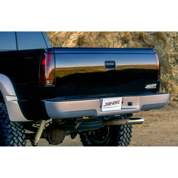Chevrolet, GMC Bumper Cover  - Rear
