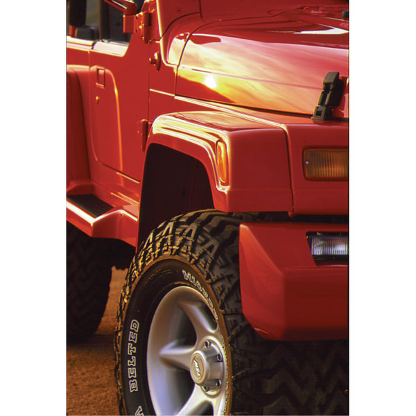 97-06 Jeep Wrangler Fender Flare Set  - Front and Rear