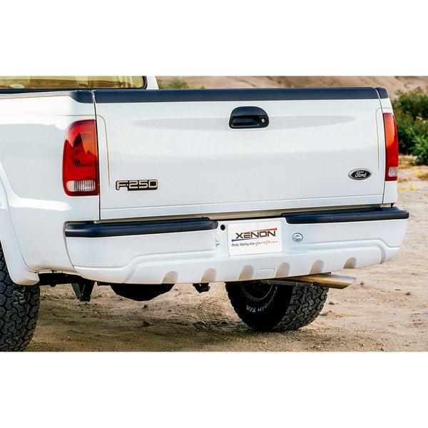 Ford (Bed Length: 81.0 - 98.6Inch) Bumper Cover  - Rear