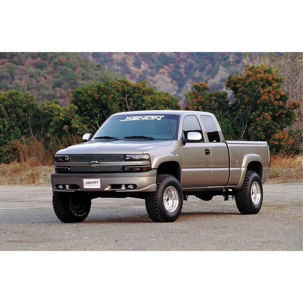 Chevrolet, GMC (Bed Length: 78.0 - 96.0Inch) Fender Flare Set  - Front and Rear