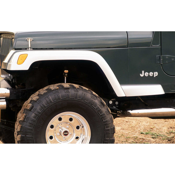 87-95 Jeep Wrangler Fender Flare Extension  - Front