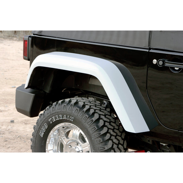 07-18 Jeep JK Fender Flare Set  - Front and Rear