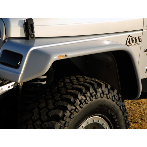 87-95 Jeep Wrangler Fender Flare Set  - Front and Rear