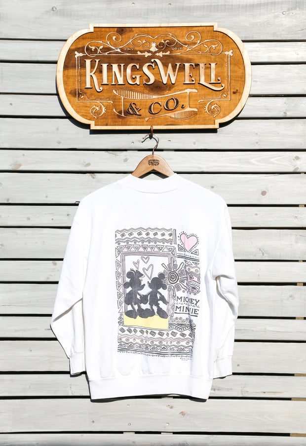 Mickey and Minnie Sweatshirt